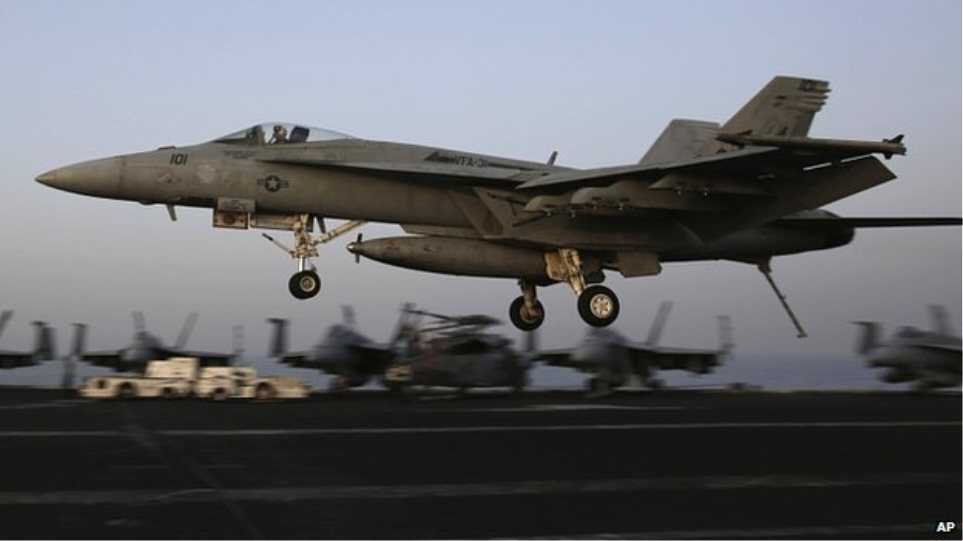 ΗΠΑ: 55 αεροπορικά πλήγματα σε περιοχές του Ιράκ και της Συρίας