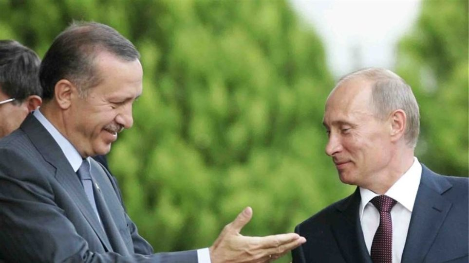 Για το αέριο και τη Συρία θα μιλήσουν Πούτιν-Ερντογάν