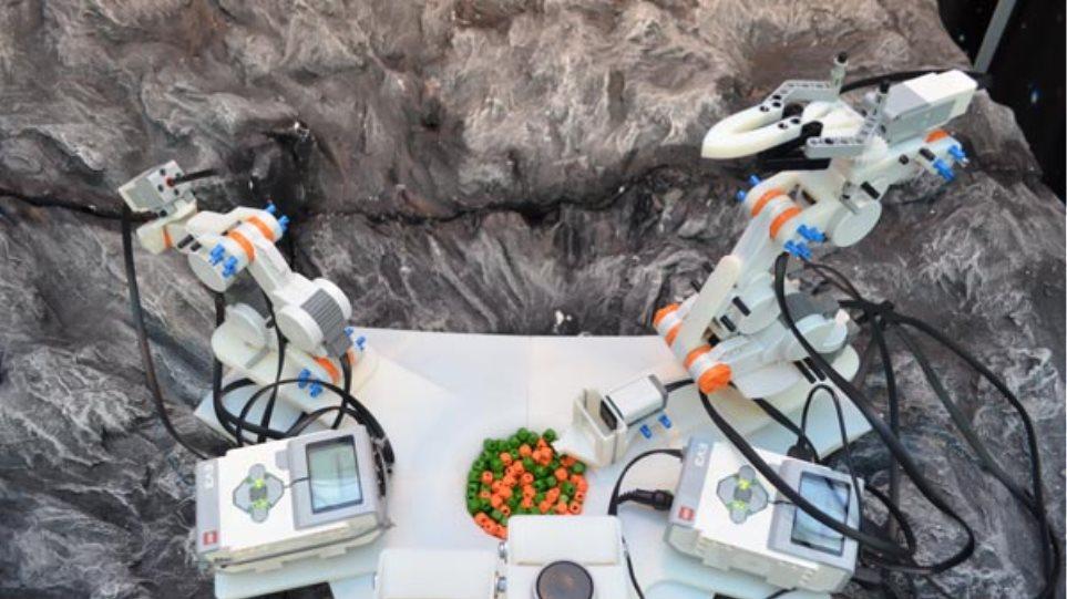 Δείτε το ρομπότ των Ελλήνων μαθητών που κατέκτησε την 7η θέση στην Ολυμπιάδα Ρομποτικής