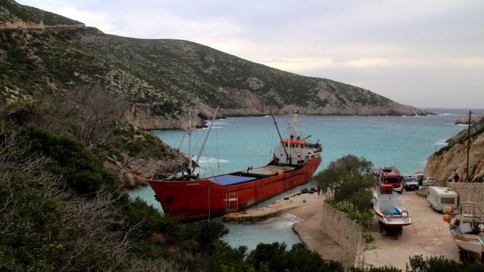 Κέρκυρα: Προσάραξη τούρκικου πλοίου με λαθραία τσιγάρα