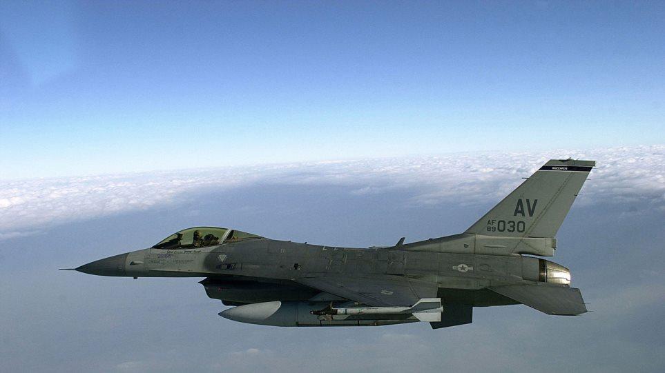 Συντριβή αμερικανικού F-16 στη Μέση Ανατολή - Νεκρός ο πιλότος