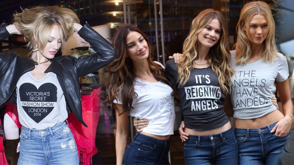 Victoria's Secret: Οι άγγελοι προσγειώθηκαν στο Λονδίνο