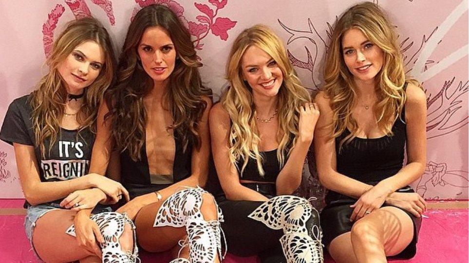 Victoria's Secret: Δείτε τους αγγέλους να ετοιμάζονται για το σόου