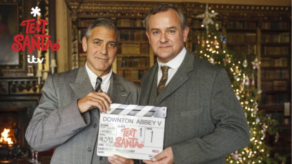 Βίντεο: Οι πρώτες εικόνες από την εμφάνιση του Clooney στο Downton Abbey