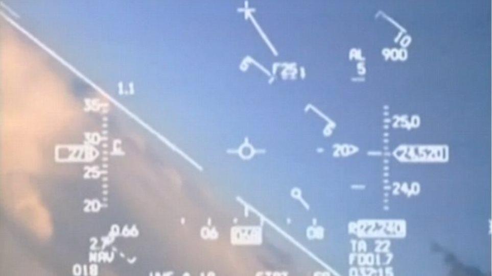 Βίντεο: Νορβηγικό μαχητικό βρέθηκε στον αέρα 20 μέτρα από ρωσικό MiG