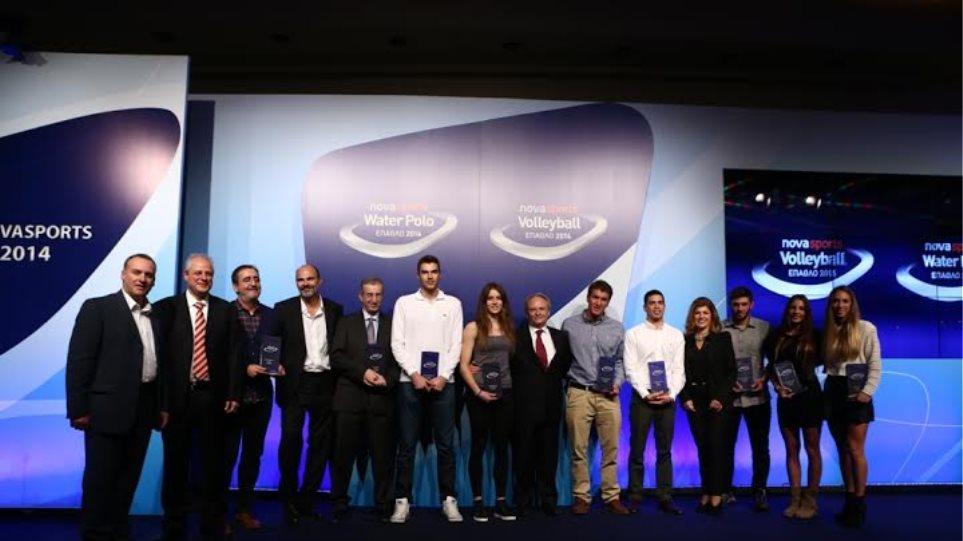 Έπαθλο Novasports: Για 12η χρονιά βραβεύτηκαν οι καλύτεροι σε Volleyball και Water Polo