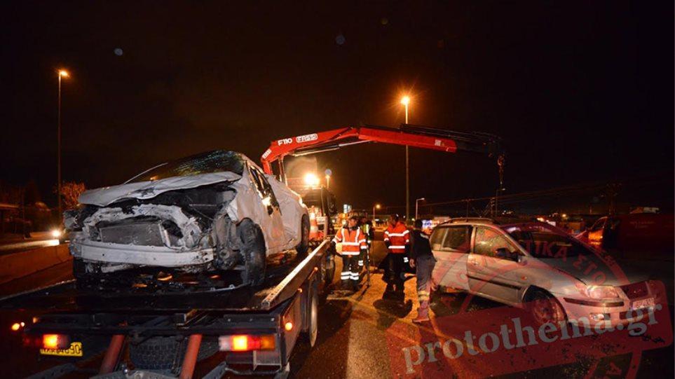 Kαραμπόλα 35 οχημάτων στο Σχηματάρι - Μία νεκρή