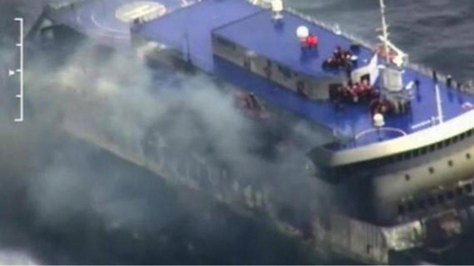 Αγώνας με το χρόνο στο Norman Atlantic: Δείτε φωτογραφίες και βίντεο από την επιχείρηση διάσωσης