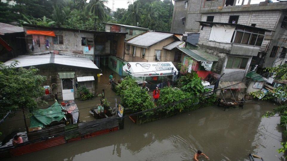 Φονικές πλημμύρες στις Φιλιππίνες - Τουλάχιστον 53 νεκροί
