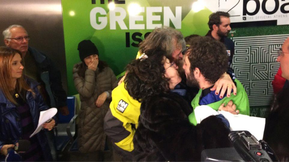 Έφτασαν επιτέλους στην Ελλάδα οι 106 διασωθέντες