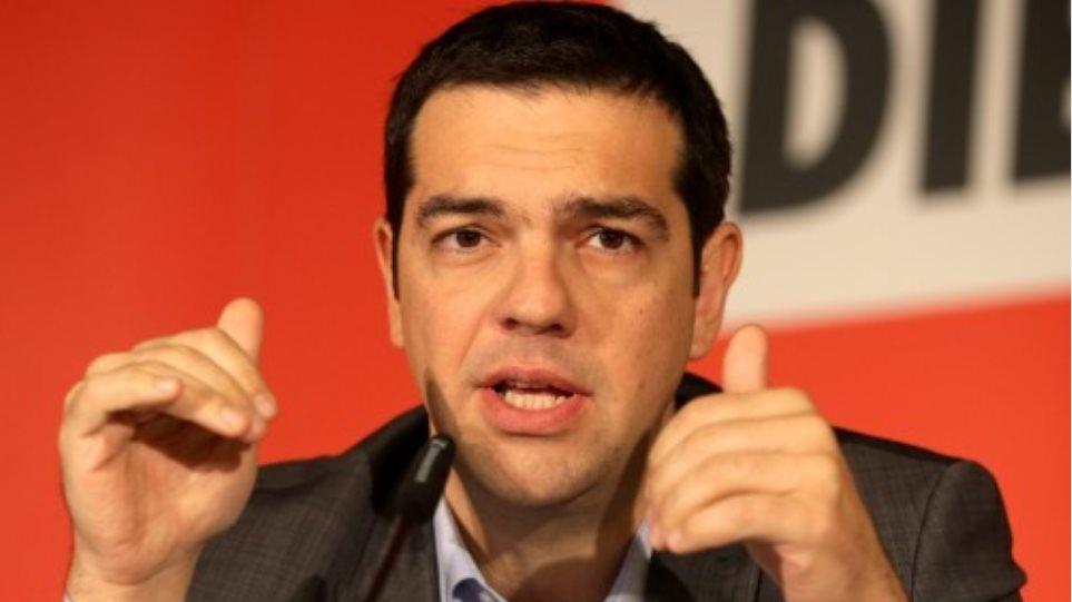 Τσίπρας: Το 2015 θα είναι η χρονιά της ανατροπής και της αξιοπρέπειας