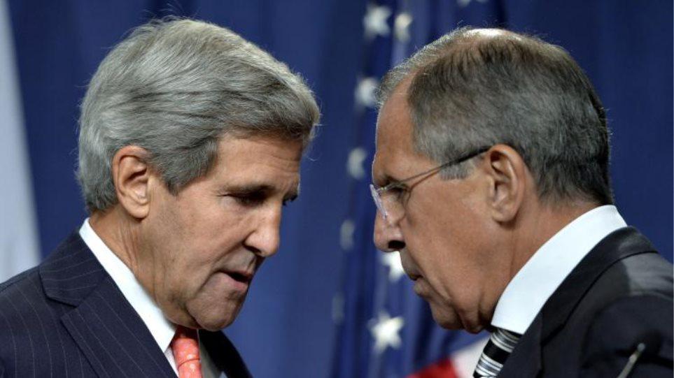 Τηλεφωνική επικοινωνία Κέρι - Λαβρόφ για την κρίση σε Ουκρανία και Μέση Ανατολή