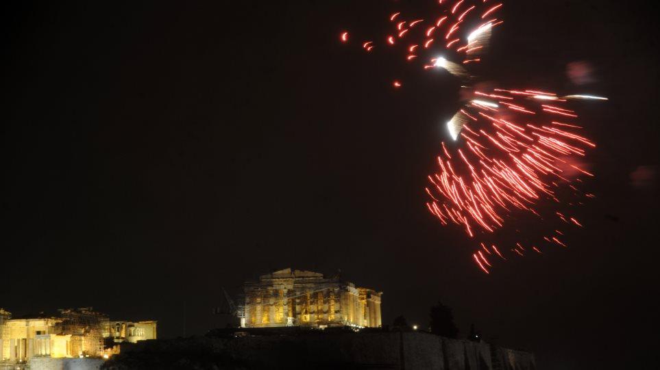 Με τσουχτερό κρύο υποδέχθηκε η Αθήνα το 2015