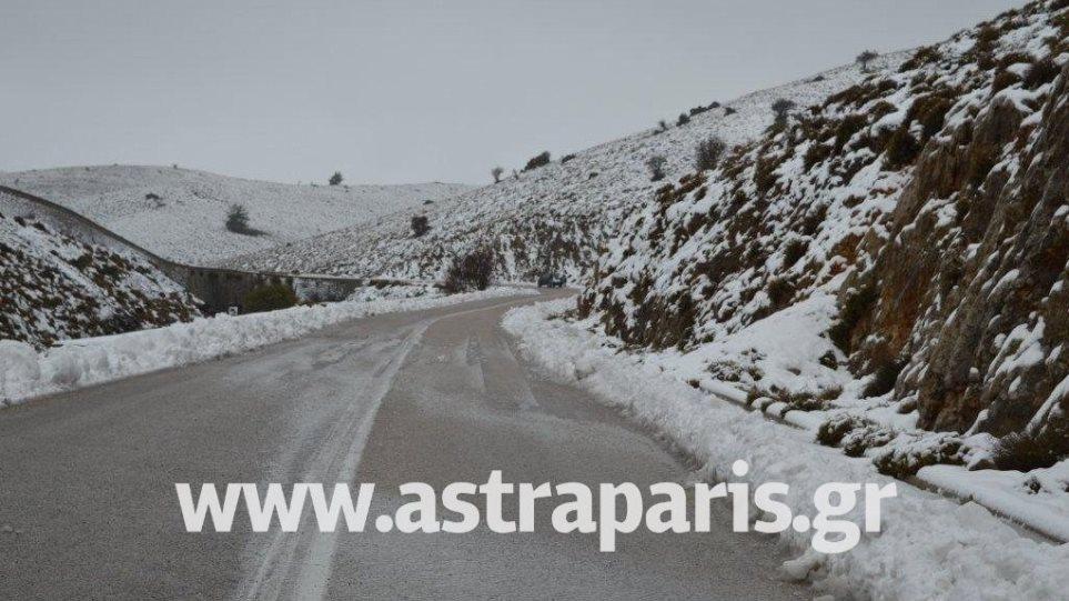 Χίος: Αποκλεισμένοι τρεις κτηνοτρόφοι στο Πελινναίο λόγω κακοκαιρίας