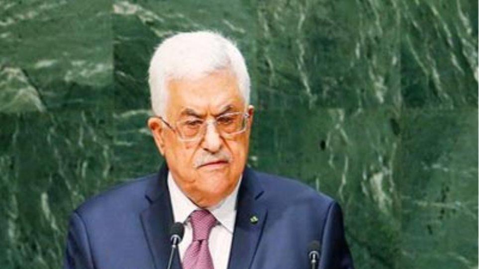 Αμπάς: Ενδέχεται να υποβάλει εκ νέου ψήφισμα για τη δημιουργία ανεξάρτητου κράτους στο ΣΑ του ΟΗΕ