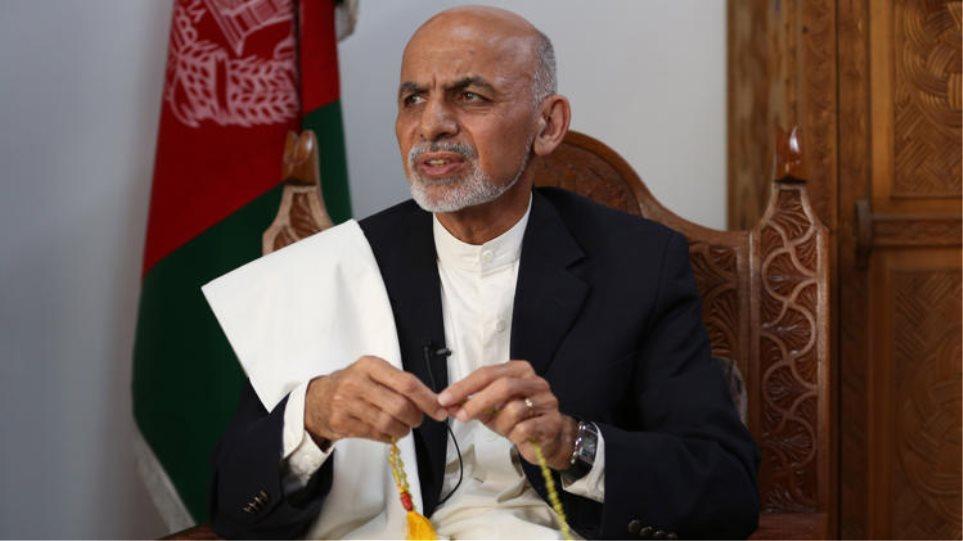 Την παραμονή των αμερικανικών στρατευμάτων στο Αφγανιστάν θέλει ο πρόεδρος της χώρας