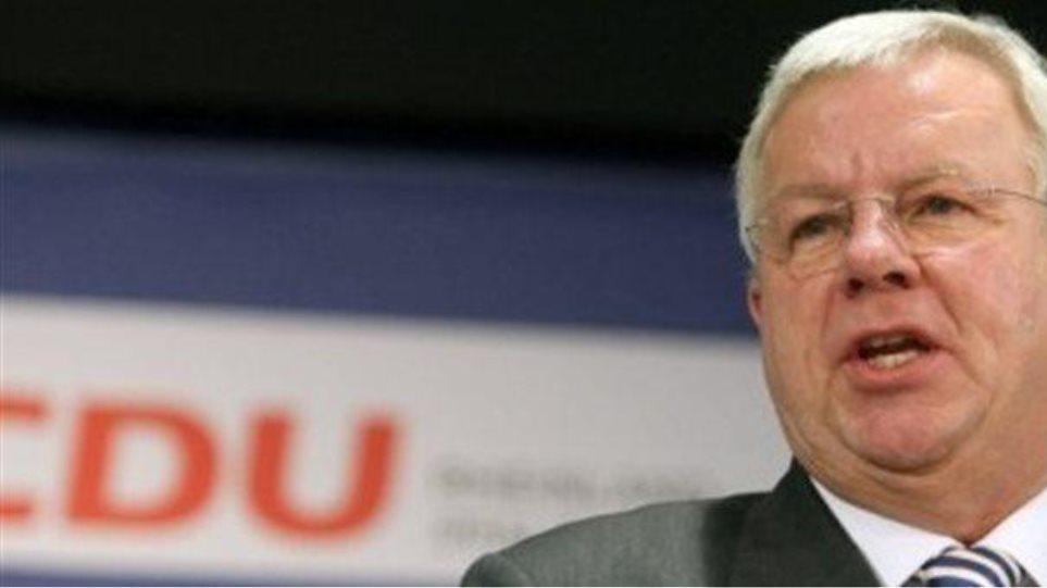 Αντιπρόεδρος Χριστιανοδημοκρατών: Πιθανό το σενάριο εξόδου της Ελλάδας από την ευρωζώνη