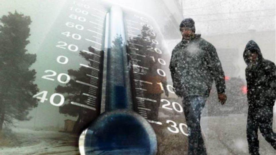 Χιόνια και πολύ χαμηλές θερμοκρασίες στη Δυτική Μακεδονία