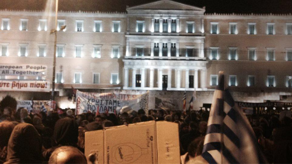 «Ανάσα Αξιοπρέπειας» ζήτησαν από το Σύνταγμα πάνω από 20.000 Έλληνες