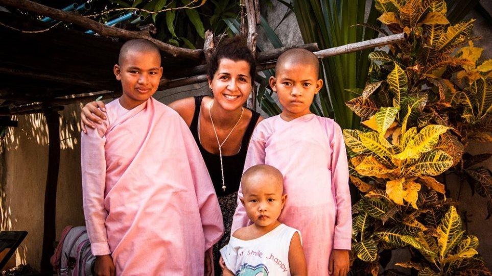 Μάρω Βερλή: Μια Αθηναία στη Μιανμάρ