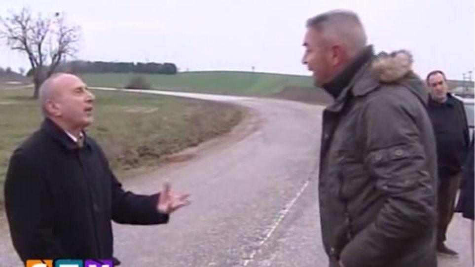 Βίντεο: Τα «γαλλικά» του αντιπεριφερειάρχη Σερρών σε πολίτη