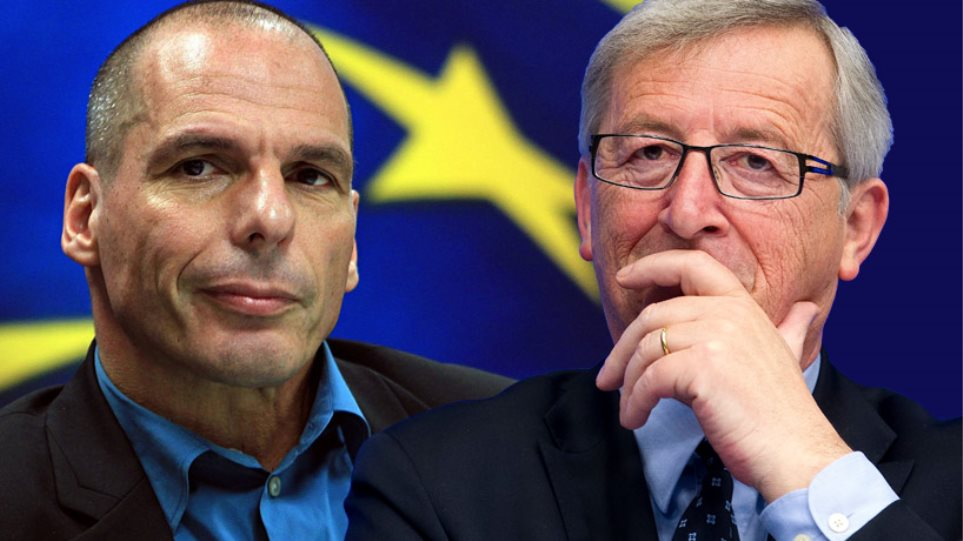 To Reuters αποκαλύπτει παρέμβαση Γιούνκερ σε Τσίπρα για Βαρουφάκη