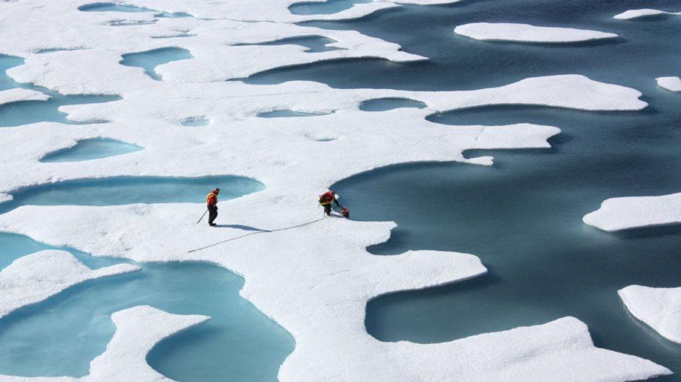 Συναγερμός για τους πάγους στην Αρκτική: Στα χαμηλότερα επίπεδα από το 1980