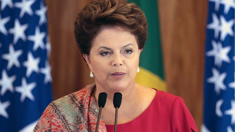 Βραζιλία: Κατακόρυφη πτώση της δημοτικότητας της Ρούσεφ