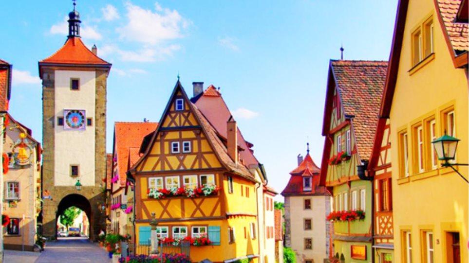 Αυτή η πόλη της Γερμανίας είναι παραμυθένια!