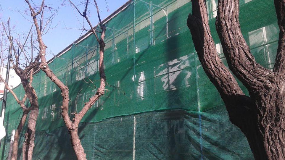 Αποκαθίστανται οι ζημιές στο Πολυτεχνείο με μηχανισμό antigraffiti