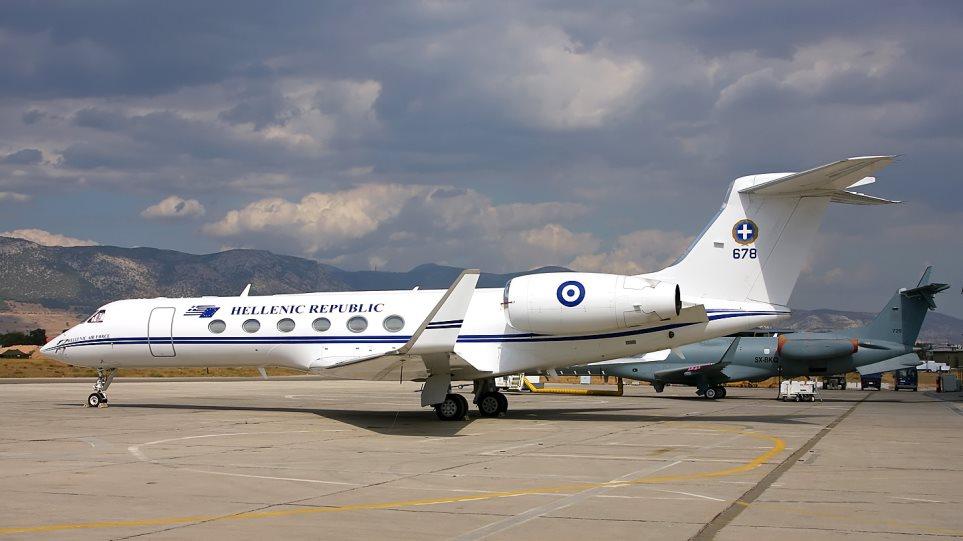 Αεροδιακομιδή παιδιού με το πρωθυπουργικό αεροσκάφος