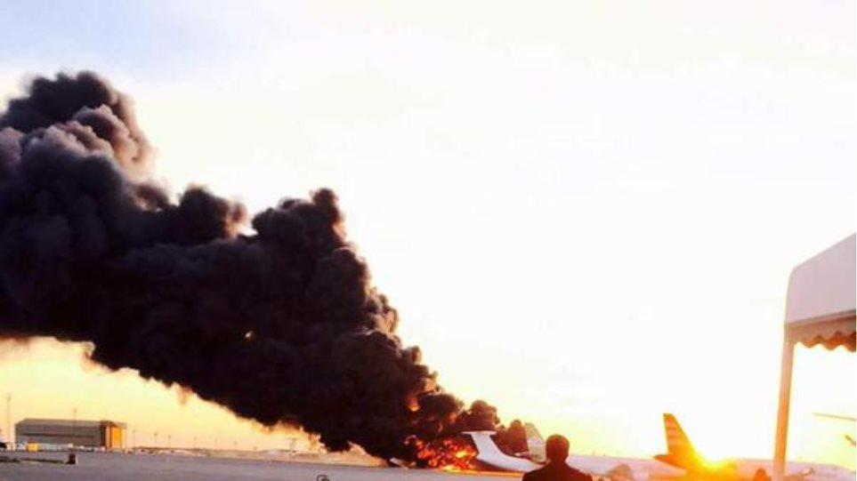 Λιβύη: Από αέρος επιδρομές στο μόνο αεροδρόμιο σε λειτουργία στην Τρίπολη