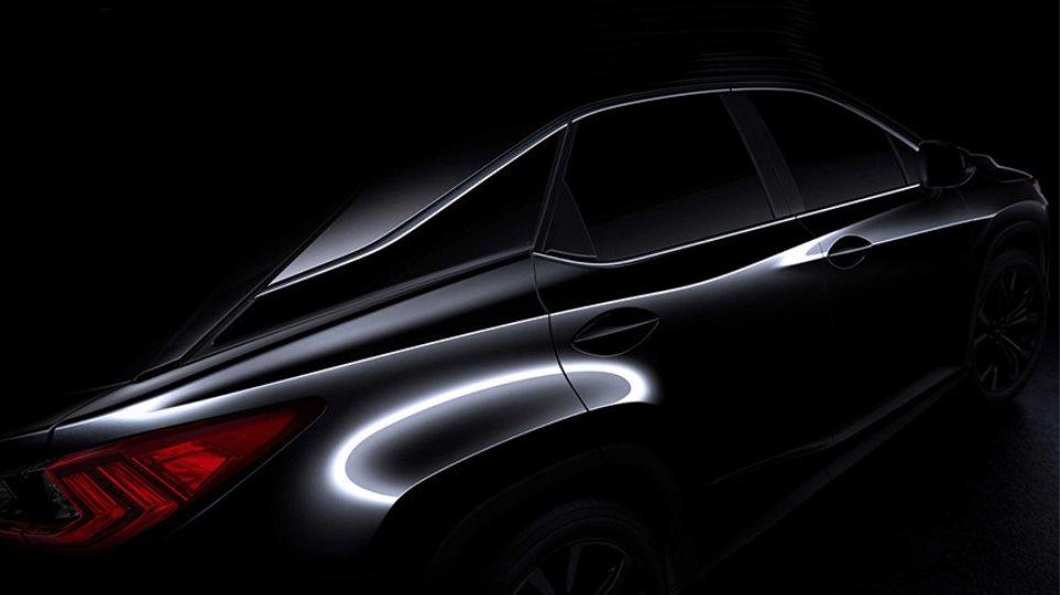 Έρχεται το μεγάλο SUV της Lexus