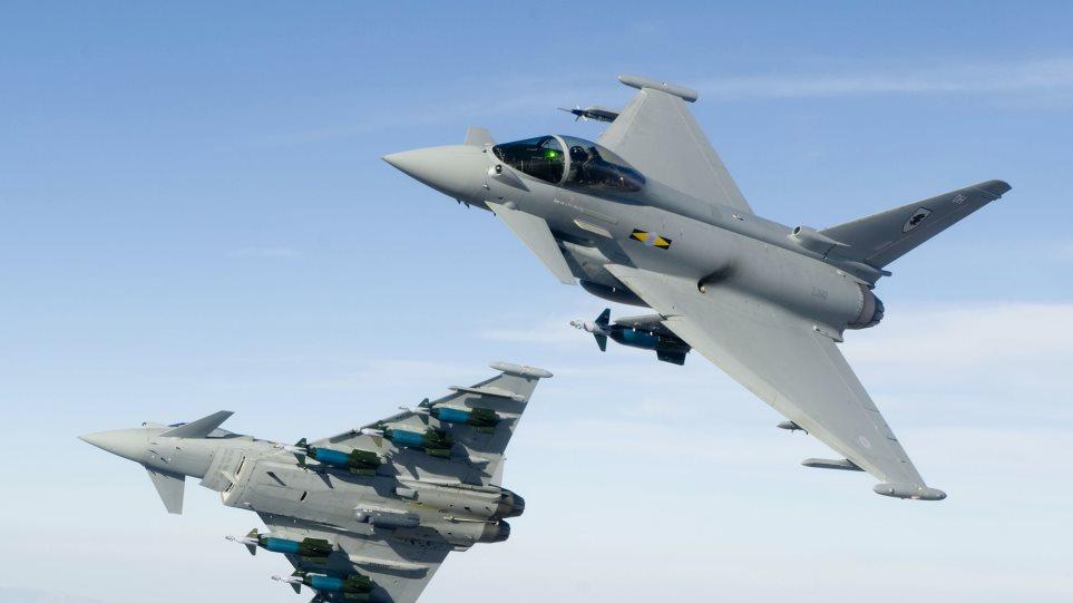 Αερομαχία βρετανικών μαχητικών με ρωσικά βομβαρδιστικά!