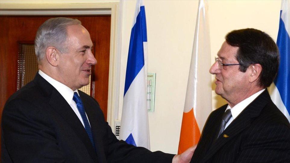 Στο Ισραήλ για συνάντηση με το Νετανιάχου ο Αναστασιάδης