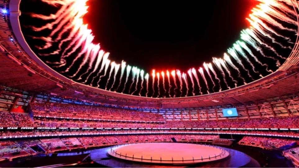Ευρωπαϊκοί Αγώνες: Λαμπρή τελετή έναρξης διά χειρός Δημήτρη Παπαϊωάννου