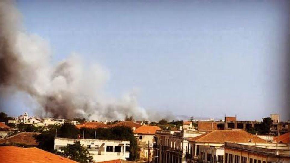 Κύπρος: Υπό έλεγχο η πυρκαγιά στην Αμμόχωστο
