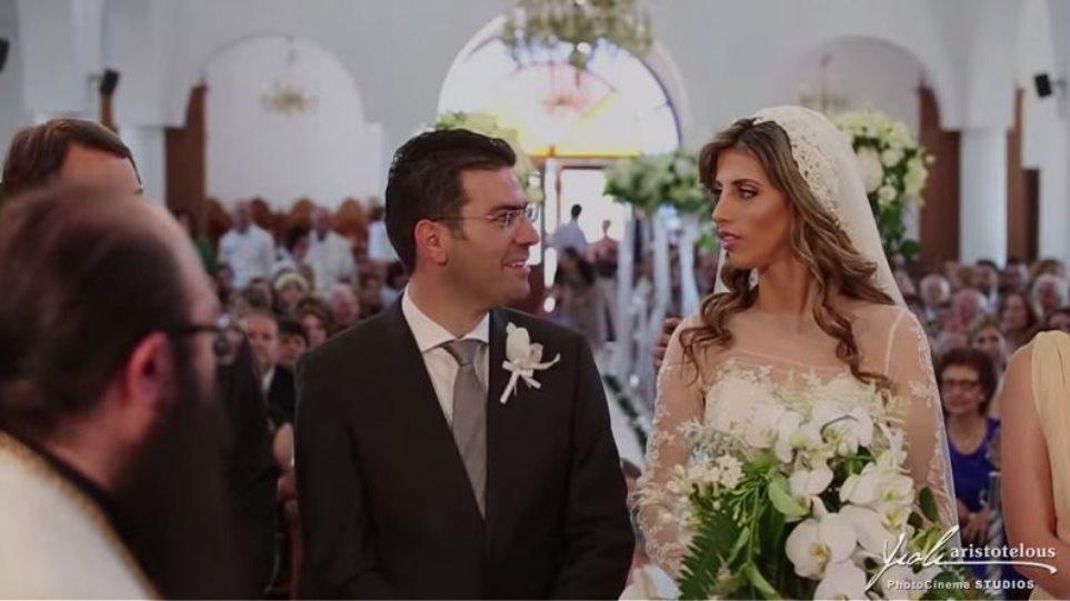 Βίντεο: Γάμος υπερπαραγωγή Κύπριου βουλευτή με κουμπάρο τον Αναστασιάδη