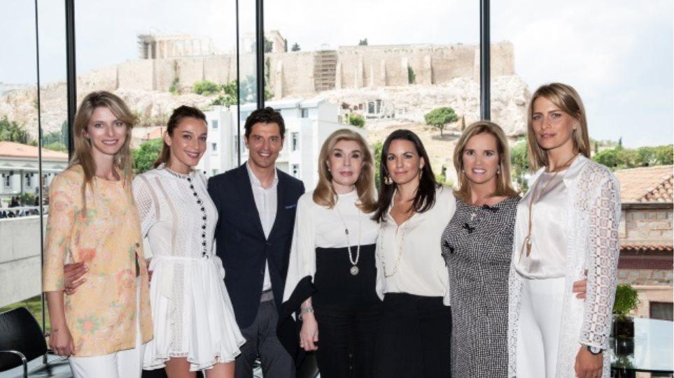 Αρκετοί επώνυμοι τίμησαν τη διάλεξη της Kerry Kennedy στο μουσείο της Ακρόπολης