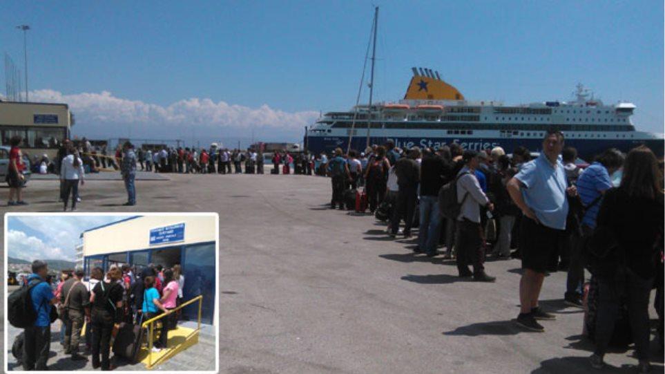 Στον Πειραιά με πλοία της γραμμής περίπου 2.000 μετανάστες από τη Μυτιλήνη