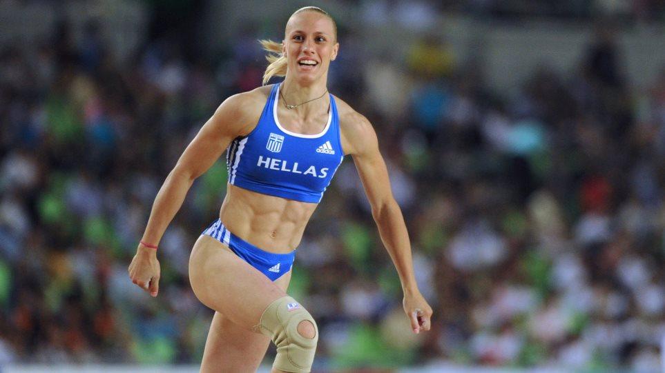 Ισοφάρισε το πανελλήνιο ρεκόρ στο επί κοντώ η Νικόλ Κυριακοπούλου