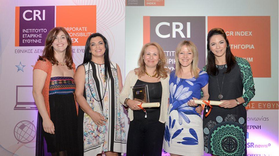 Ο Όμιλος ΕΛΛΗΝΙΚΑ ΠΕΤΡΕΛΑΙΑ βραβεύεται για πέμπτη συνεχή χρονιά στην κατηγορία PLATINUM του CR Index