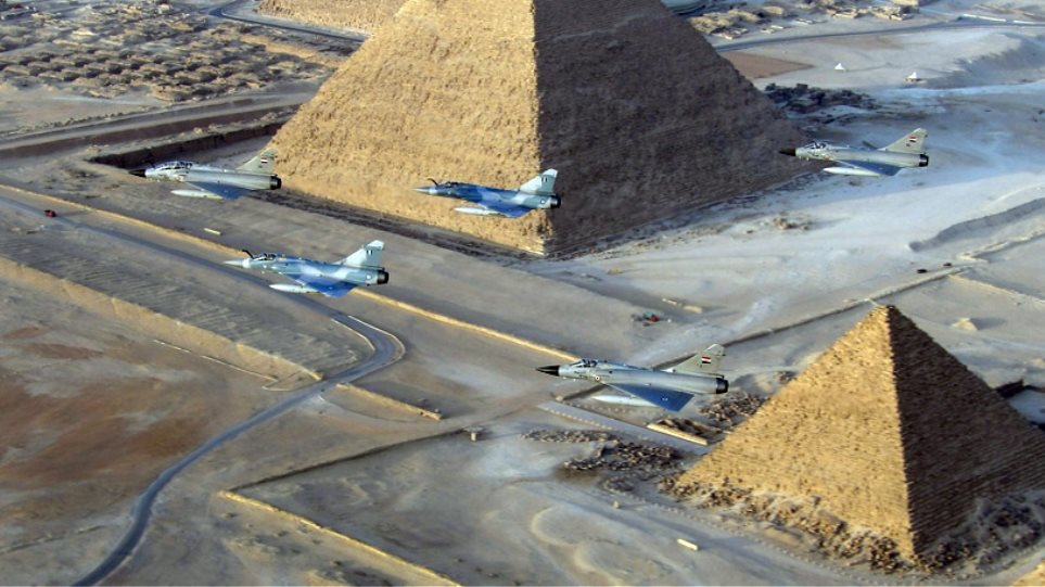 Ελληνικά μαχητικά «σκίζουν τους αιθέρες» πάνω από τις Πυραμίδες!