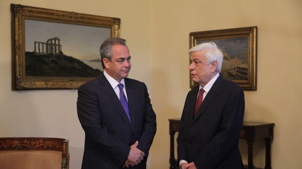 Παυλόπουλος: «Η πορεία της χώρας σε Ευρωζώνη και Ευρώπη θα συνεχισθεί»