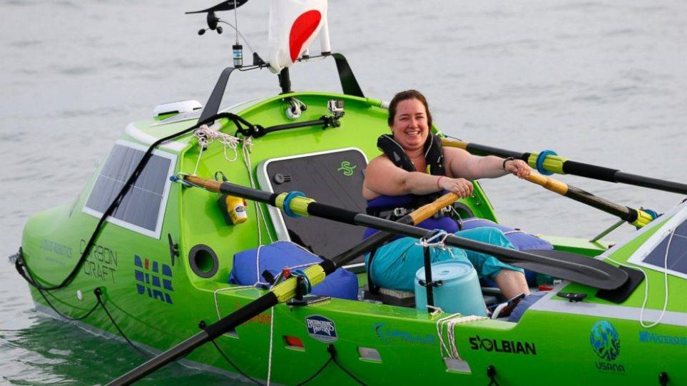 Άδοξο τέλος στο ταξίδι της 30χρονης που ήθελε να διασχίσει τον Ειρηνικό με βάρκα