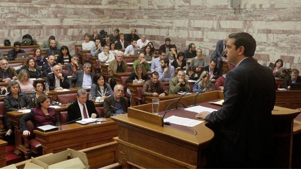 Κρίσιμη συνεδρίαση των οργάνων του ΣΥΡΙΖΑ στη Βουλή