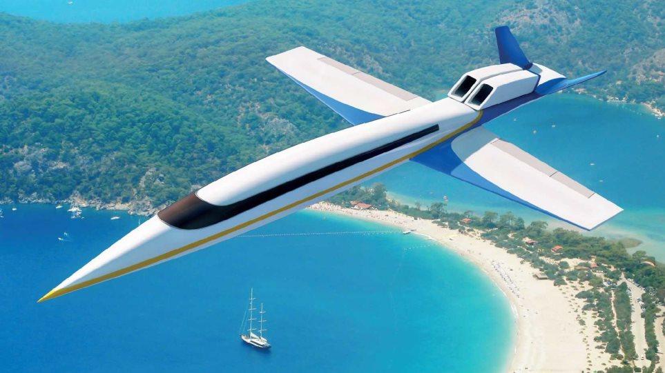 Λονδίνο-Νέα Υόρκη σε 3 ώρες με το νέο υπερηχητικό αεροπλάνο
