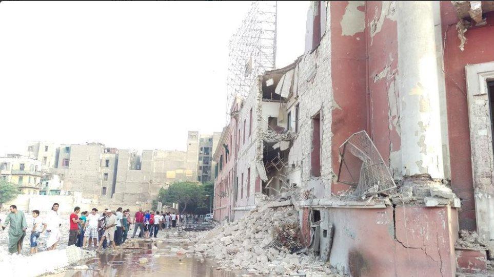 Κάιρο: Ένας νεκρός και πέντε τραυματίες από μεγάλη έκρηξη στο ιταλικό προξενείο
