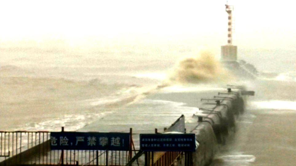 Κίνα: Εκκενώνονται μεγάλες περιοχές ενόψει του τυφώνα Chan-Hom