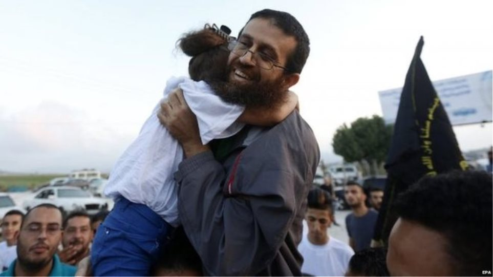 Οι Ισραηλινοί απελευθέρωσαν Παλαιστίνιο μετά από 56 ημέρες απεργία πείνας